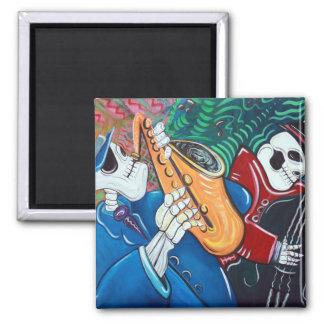 The Bad Blues Bone Band Refrigerator Magnets