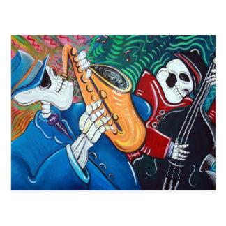 The Bad Blues Bone Band Postcard