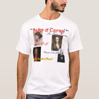 the Badge of Courage project T-Shirt