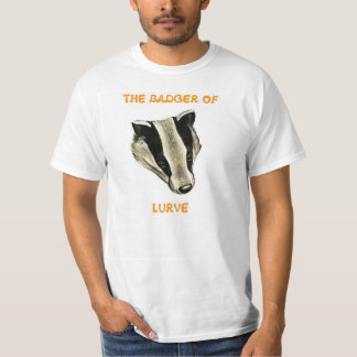The Badger of Lurve T-Shirt