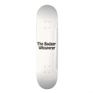 the badger whisperer 21.3 cm mini skateboard deck