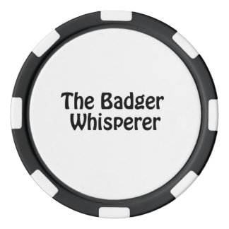 the badger whisperer poker chips