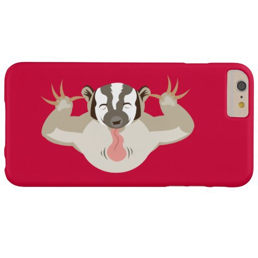 The Badgering Badger_classic_red Barely There iPhone 6 Plus Case