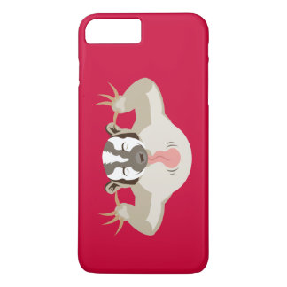 The Badgering Badger_classic_red iPhone 7 Plus Case