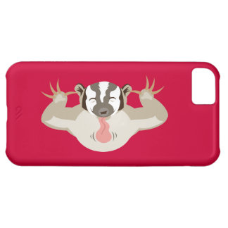 The Badgering Badger iPhone 5C Case