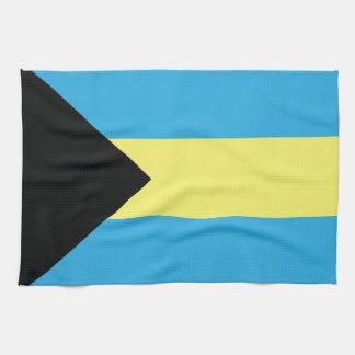The Bahamas Flag Tea Towel