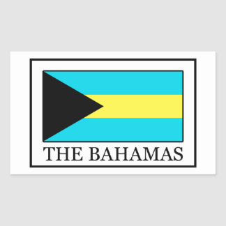 The Bahamas Rectangular Sticker