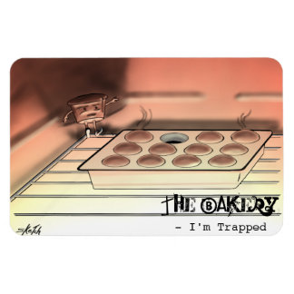 The Bakery - I'm Trapped - Fridge Magnet
