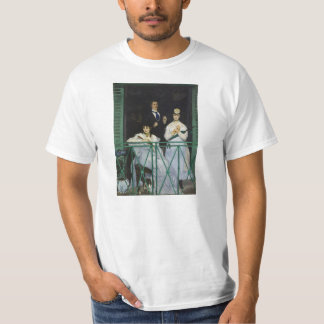 The Balcony by Edouard Manet T-Shirt