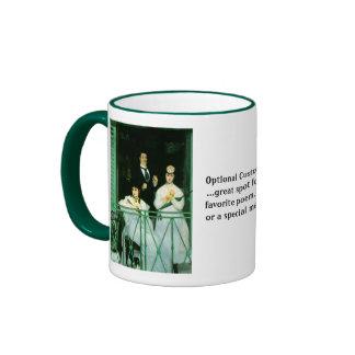 The Balcony Ringer Mug