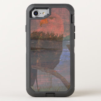 The Bald Eagle OtterBox Defender iPhone 8/7 Case