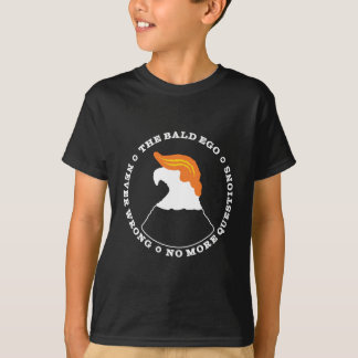 The Bald Ego Is Never Wrong (dark) T-Shirt