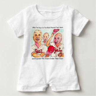 The Baldy Bean Kids of Red Hook Brooklyn Baby Bodysuit