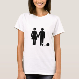 """The """"Ball and Chained"""" groom T-Shirt"""