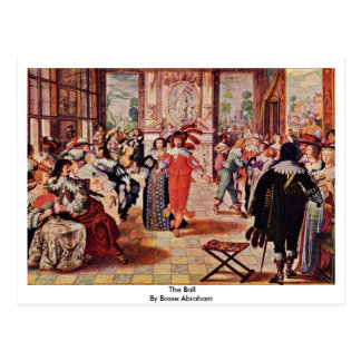 The Ball By Bosse Abraham Postcards