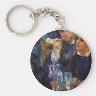 The ball in the Moulin de la Galette  by Renoir Key Chain
