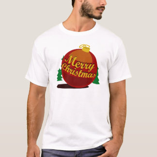 The Ball of Christmas White Version T-Shirt