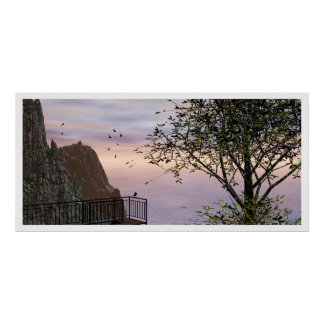 The Ballester Lookout Landscape Poster