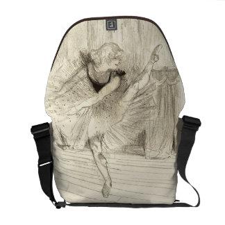 The Ballet Dancer, Toulouse-Lautrec Messenger Bag