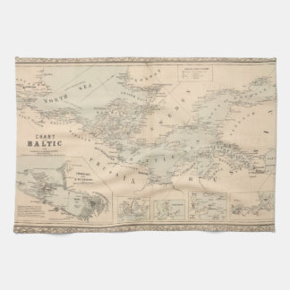 The Baltic Sea Tea Towel