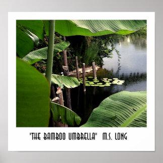 The Bamboo Umbrella Poster