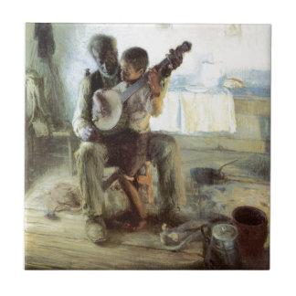 The Banjo Lesson Ceramic Tile
