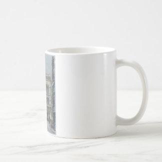 The banking and stock exchange building coffee mug