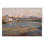 The Banks of the River Manzanares, 1912 (oil on ca Cards