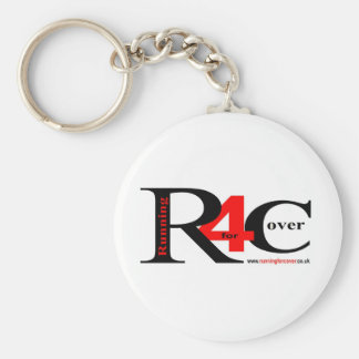 The Banner Collection Basic Round Button Key Ring