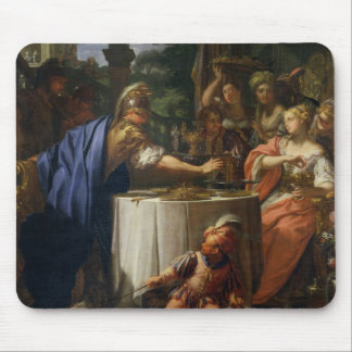 The Banquet of Mark Anthony (83-30 BC) and Cleopat Mouse Pad
