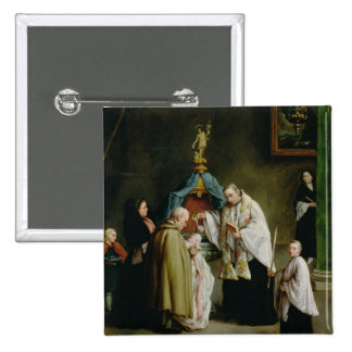 The Baptism 15 Cm Square Badge