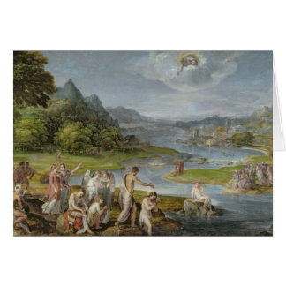 The Baptism of Christ 2 Card