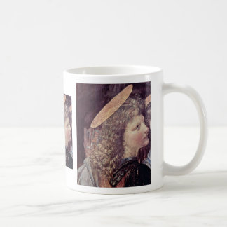 The Baptism Of Christ  By Andrea Del Verrocchio Mugs