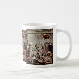 The Baptism Of Christ By Conte Jacopo Del (Best Qu Basic White Mug