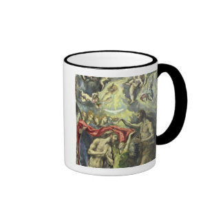 The Baptism of Christ, c.1597 (oil on canvas) Mugs