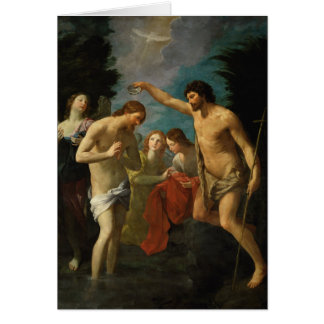 """""""The Baptism of Christ"""" greeting card"""