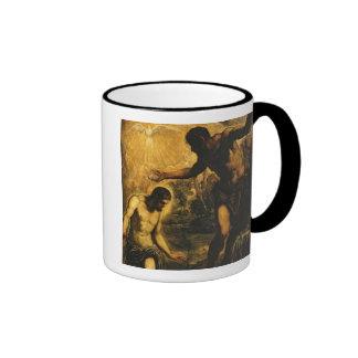 The Baptism of Christ (oil on canvas) Coffee Mug