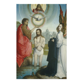 The Baptism of Christ Photographic Print