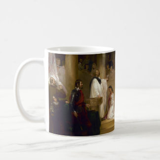 The Baptism of Pocahontas by John Gadsby Chapman Basic White Mug