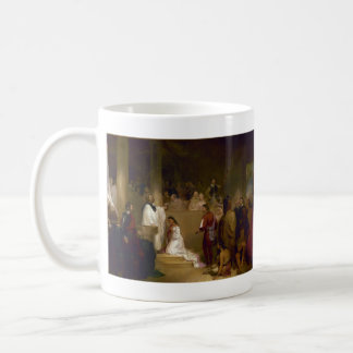 The Baptism of Pocahontas by John Gadsby Chapman Classic White Coffee Mug