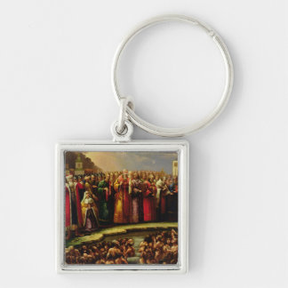 The Baptism of the Murom people Keychains