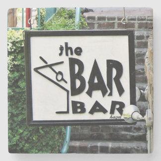 The Bar Bar, Savannah Marble Coasters