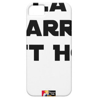 The BAR HOT EAST - Word games - François City iPhone 5 Covers