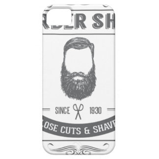 The barber shop iPhone 5 case