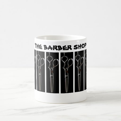 THE BARBER SHOP COFFEE MUGS