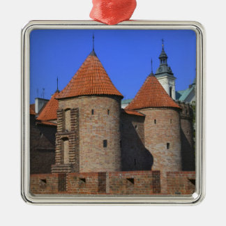 The Barbican and Pauline Church, Warsaw, Christmas Tree Ornament