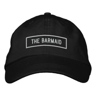 The Barmaid Headline Embroidery Embroidered Hat