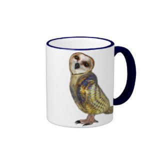 The Barn Owl Coffee Mugs
