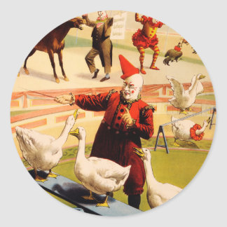 The Barnum & Bailey Greatest Show on Earth Classic Round Sticker