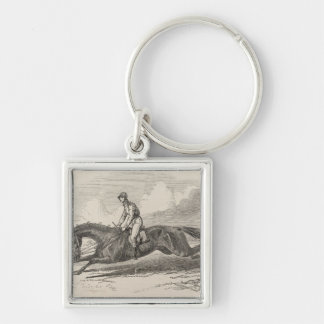 The Baron', the winner of the Great St. Leger Keychain